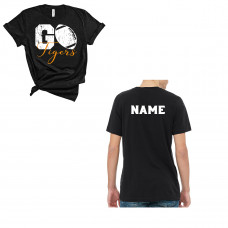Go Tigers Football Crew New T-Shirt