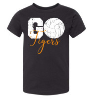 Go Tigers Volleyball Toddler T-Shirt