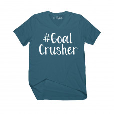 #GoalCrusher V-Neck