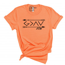 God is Greater AKM Crew Neck T-Shirt