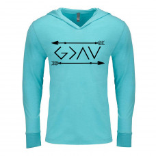 God is Greater Than the Highs and Lows Lightweight Hoodie