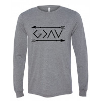God Is Greater Then the Highs and Lows Long Sleeve