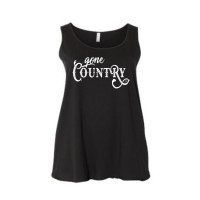 Gone Country Curvy Collection Tank