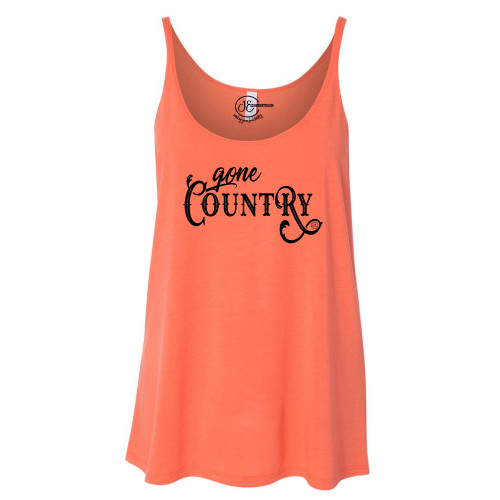 Gone Country Slouchy Tank