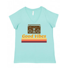 Good Vibes Curvy Collection V-Neck