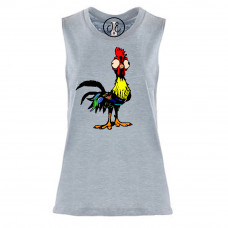 Goofy Rooster Festival Muscle Tank