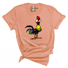 Goofy Rooster Crew Neck T-Shirt