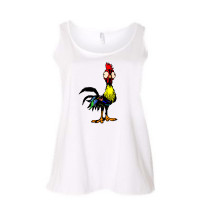 Goofy Rooster Curvy Collection Tank