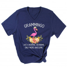 Grammingo V-Neck T-Shirt