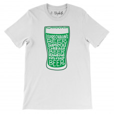 Green Beer Glass T-Shirt