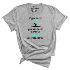 #Gymnastics Crew Neck T-Shirt