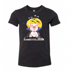 Halloween Piggy Youth T-Shirt