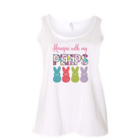 Hangin With My Peeps Curvy Collection Tank