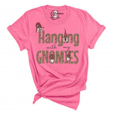 Hanging With My Gnomies Crew Neck T-Shirt