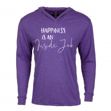 Happiness Is An inside Job Lightweight Hoodie