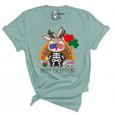 Happy Everything Crew New T-Shirt