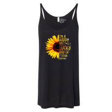 Happy Go Lucky Slouchy Tank
