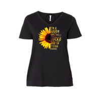 Happy Go Lucky Curvy Collection V-Neck