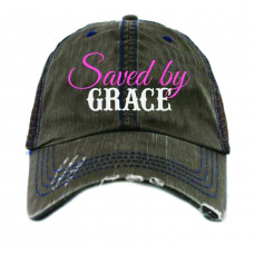 Saved By Grace Hat~