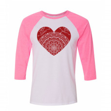 Heart Full of Love Raglan