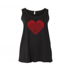 Heart Full of Love Curvy Collection Tank
