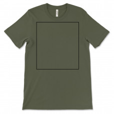 Heather Military Green Crew Neck BYOT