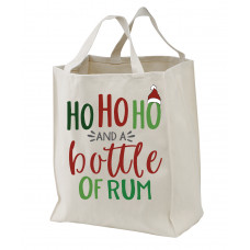 Ho Ho Ho and a Bottle of Rum Tote