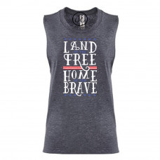 Home of the Brave Festival Muscle Tank