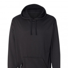 Black Tailgate Poly Fleece Hood