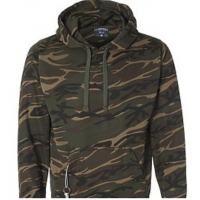 Camo Tailgate Poly Fleece Hood