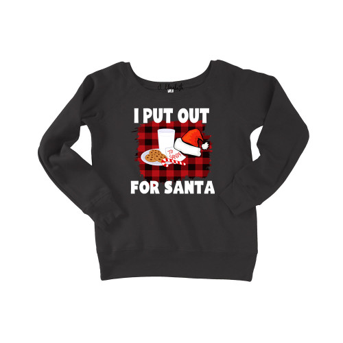 I Put Out For Santa Slouchy
