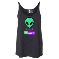 I Want To Believe Slouchy Tank