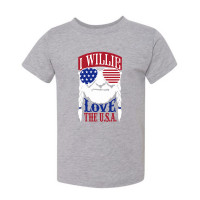 I Willie Love the USA Toddler T-Shirt