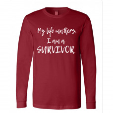 I am a Survivor Long Sleeve