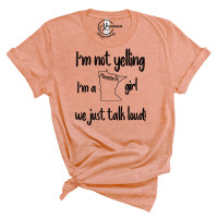 I'm Not Yelling Minnesota Crew Neck T-Shirt