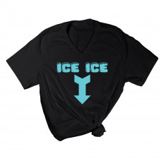 Ice Ice Baby V-Neck T-Shirt- Parental Hope