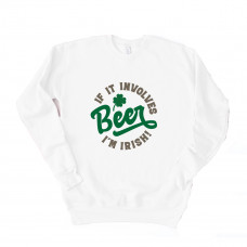 Irish Beer Unisex Drop Sleeve Sweatshirt