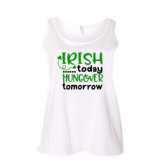Irish Hangover Women's Curvy Collection Tank