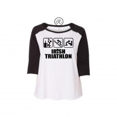 Irish Triathlon Curvy Collection Raglan