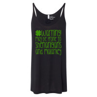 Irish Warning Slouchy Tank