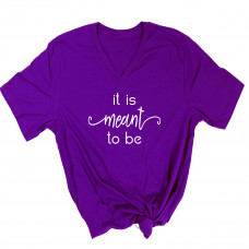 It is Meant to Be V-Neck - Parental Hope