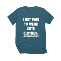 #JEStylist I Get Paid To Wear Cute Clothes V-Neck