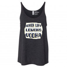 Just Add Vodka Slouchy Tank