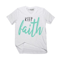 Keep Faith V-Neck