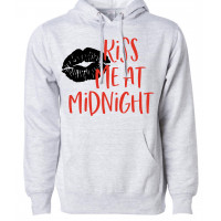 Kiss Me At Midnight Fleece Hoodie