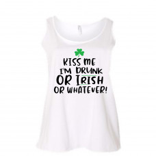 Kiss Me or Whatever Curvy Collection Tank