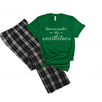 Kiss Me Under The Mistletoe Pajamas