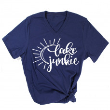 Lake Junkie V-Neck