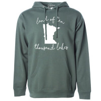 Land of Ten Thousand Lakes Fleece Hoodie