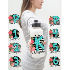 Leopard Stripe Water Bottle